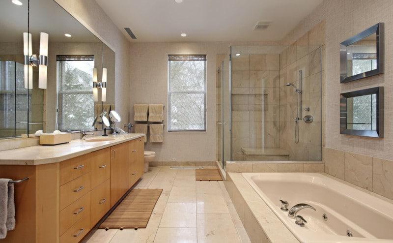 De mooiste badkamers pf living landelijke meubels en landelijke woonaccesoires - Mooie badkamers ...